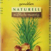 Bio Erdmandeln natur gemahlen (300 g) - Erdmandelmehl