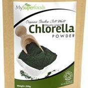 Bio Chlorella Pulver (200g) von MySuperfoods