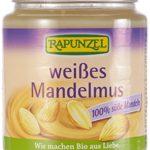 Bio Mandelmus weiß 250 g ✅ Rapunzel - enthält wichtige Vitamine und Mineralstoffe ✅ unschlagbar lecker im Geschmack ✅ EINE GESUNDE NASCHEREI!