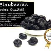 Blaubeeren - Heidelbeeren - getrocknet ohne Zusatzstoffe
